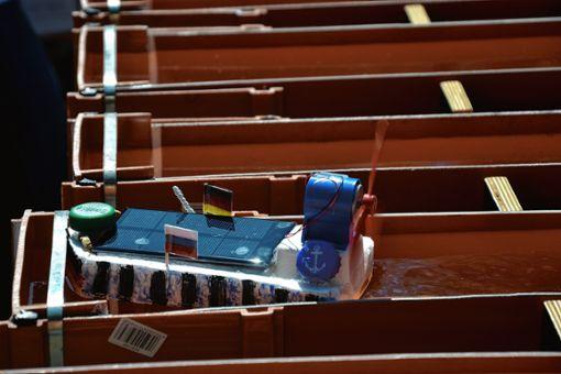 Intelligente Lösungen fanden die Schüler für ihre Solarboote.    Foto: zVg Foto: Die Oberbadische