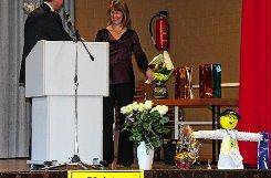 Verdiente Bürger und Blutspender wurden beim Neujahrsempfang in der Festhalle Langenau ausgezeichnet. Foto: Markgräfler Tagblatt