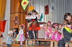 In Fahrnau hatten die Kinder in der Halle ihren Spaß. Foto: Markgräfler Tagblatt