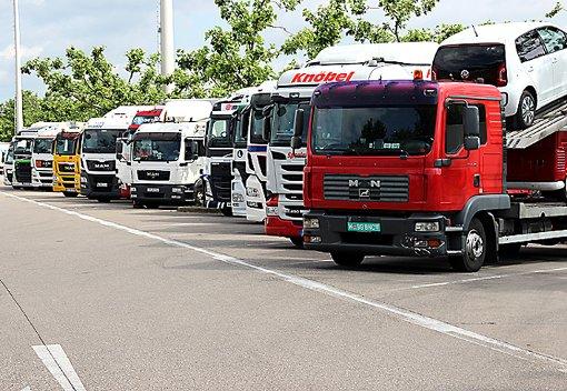 Im Rahmen der rund zweistündigen Kontrolle wurden neun Lkw-Fahrer angezeigt. (Symbolbild) Foto: Siegfried Feuchter