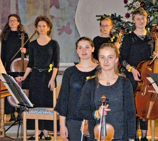 Landesjugendbarockorchesters Baden-Württemberg begeisterte mit seinem Konzert in St. Michael Grenzach. Foto: Willi Vogl Foto: Die Oberbadische