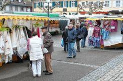Beim Frühjahrsmarkt in Kandern gab es wieder viel zu stöbern.   Fotos: Alexandra Günzschel Foto: Weiler Zeitung