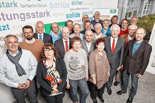 Die Mitglieder des  AOK-Bezirksrats.  Foto: zVg Foto: Die Oberbadische