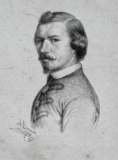 Gottlieb August Bauer   ein  Portrait                                     Repro: zVg Foto: Weiler Zeitung