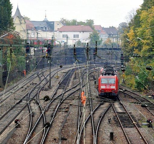Der gestrige Kabinettsbeschluss zur Rheintalbahn sorgt für heftige Kritik.  Foto: Archiv Foto: Die Oberbadische