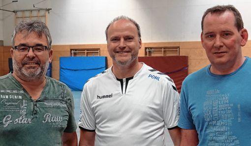 Das HSV-Trio    Arno Asal, Andreas Pohl und Andreas Klatt.    Foto: Hans-Jürgen Hege Foto: Markgräfler Tagblatt
