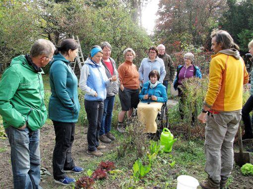 """Unterstützt durch das """"WANDELbudget"""": der Permakultur-Kurs. Foto: zVg"""