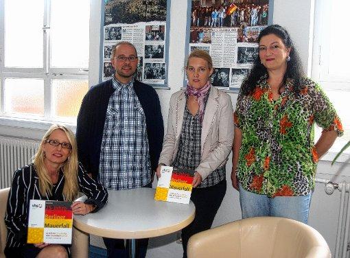 Stellten das neue  Programm vor (von links): Susanne Häußer-Ühlin, Michael Fritz. Katrin Hundorf und Susanne Bühler.    Foto: Heiner Fabry Foto: Markgräfler Tagblatt