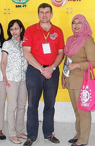 Christopher Stoller war in Indonesien.   Foto: zVg Foto: Die Oberbadische