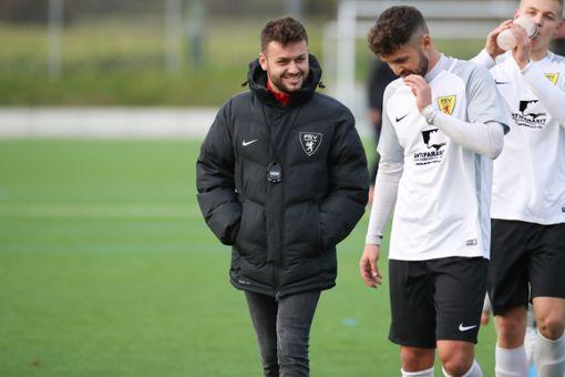 Das FSV-Trainergespann Marc Jilg (links) und Anton Weis freut sich über einen klaren Auswärtserfolg.   Foto: Archiv Foto: Die Oberbadische