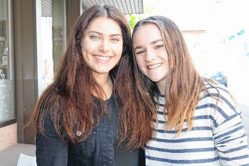 Bienvenido in Argentinien und Uruguay  wird es für Luisa Strittmatter aus Kürnberg (links) und Leonie Hehn aus Raitbach im August heißen.  Foto: Petra Martin Foto: Markgräfler Tagblatt