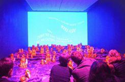 Um erotische Begehrlichkeiten ging es in den abgründig-humorvollen Animationen von Wong Ping in der Kunsthalle.  Foto: Zettler