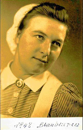 Helene Hurst im Jahr 1943 (Repro) Foto: Schumacher