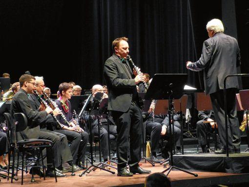 Mit schönen Tönen konnte Stefan Gorenflo (Klarinette) begeistern. Foto: Gottfried Driesch