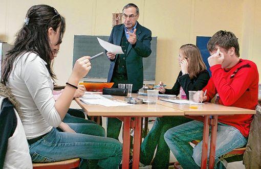 Laut den Ergebnissen einer Studie der Bertelsmann-Stiftung fehlen insbesondere auf dem Land Lehrer.   Foto: Archiv Foto: Die Oberbadische