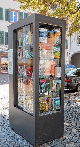 Seit einem Jahr in Betrieb: der offene Bücherschrank.    Foto: zVg Foto: Markgräfler Tagblatt