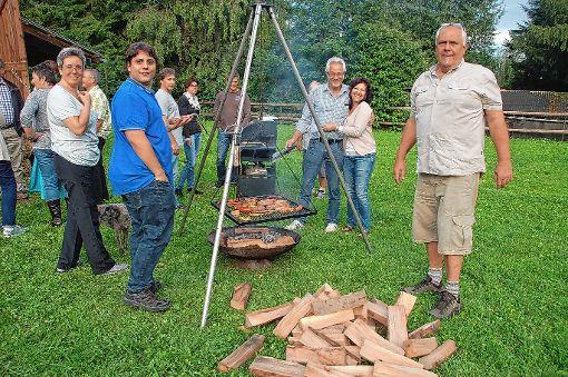 Auch für das leibliche Wohl war beim Helferfest in Minseln gesorgt.  Foto: Petra Wunderle Foto: Die Oberbadische
