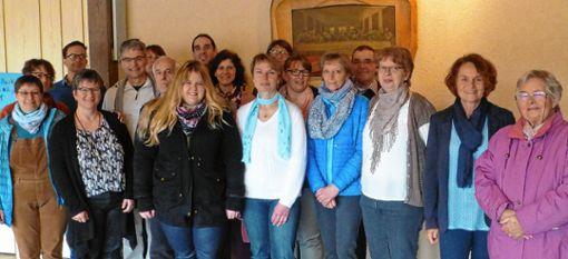 Der Chor sang am Sonntag im Gottesdienst Friedenslieder.   Foto: zVg Foto: Markgräfler Tagblatt