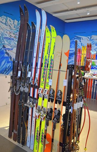 Auch der Wintersport kam im Museum nicht zu kurz.     Archivfoto: Adrian Steineck Foto: Die Oberbadische
