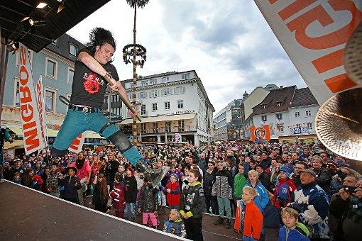 Impressionen von der Gugge-Explosion Lörrach 2014. Foto: Kristoff Meller Foto: Kristoff Meller