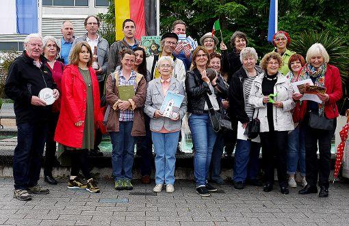 Die aktuelle Gruppe der Weiler Stadtführer und Stadtführerinnen Foto: Merstetter Foto: Weiler Zeitung