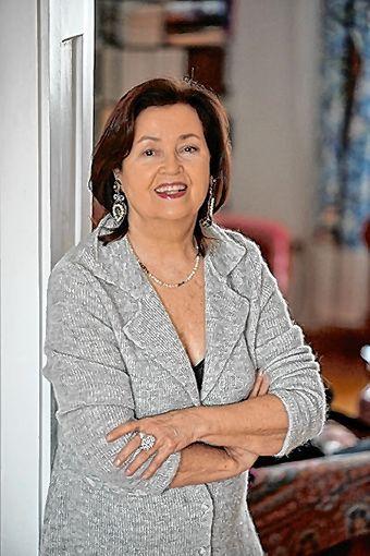 Asta Scheib liest in Wehr.              Foto: Catherina Hess Foto: Markgräfler Tagblatt