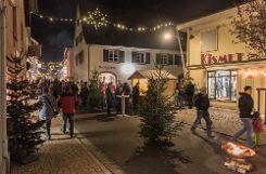 Eindrücke von der Kanderner Weihnachtsstraße Foto: Alexander Anlicker Foto: anl