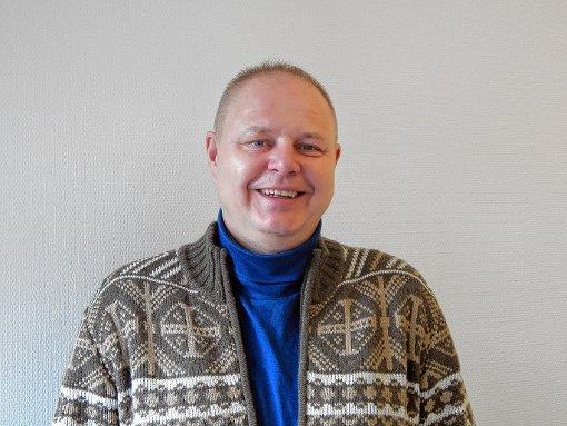 Rolf Hauser,  ausnahmsweise mal ohne Instrument.    Foto: Silvia Waßmer Foto: Die Oberbadische