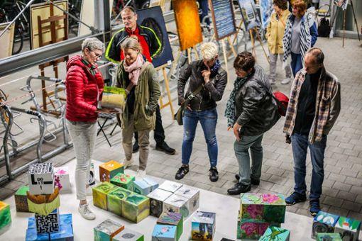 Impressionen von der Eröffnung der zweiten Kulturnacht in Alt-Weil sowie den vielfältigen Beiträgen in den beiden Städten des Oberzentrums. Foto: Kristoff Meller Foto: Kristoff Meller