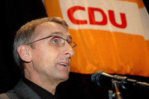 Armin Schuster will die regionale CDU-Arbeit prägen.  Foto: Marco Fraune Foto: Die Oberbadische