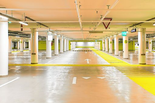 Wo sich einst ein geschützte Operationsstelle (GOPS) des Unispitals befand, gibt es nun 217 Parkplätze. Foto: zVg
