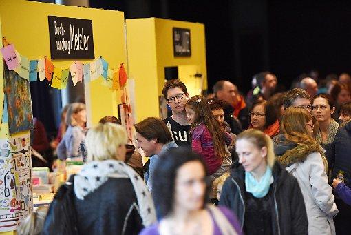 Ab heute Nachmittag strömen die Besucher wieder zur Kinderbuchmesse in den Burghof. Foto: Juri Junkov/zVg Foto: Juri Junkov/zVg