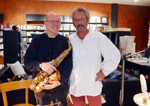 Lorrach Mit Saxofon Und Schreibfeder Lorrach Verlagshaus Jaumann