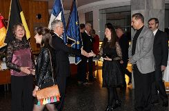 Impressionen vom 60. Neujahrsempfang in Weil am Rhein Foto: sif
