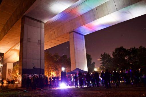 Ein Platz mit Flair: die Party im vergangenen Jahr. Foto: zVg/Benjamin Dietz  Foto: zVg/Benjamin Dietz
