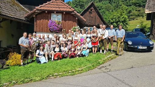 Freuen sich schon auf ihr Jahreskonzert am Samstag: der Musikverein Wieslet. Foto: zVg