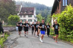 Start beim  Kloster Weitenau. Foto: Markgräfler Tagblatt