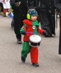 Auch kleine Musiker waren mit von der Partie.    Foto: Fabry Foto: Markgräfler Tagblatt