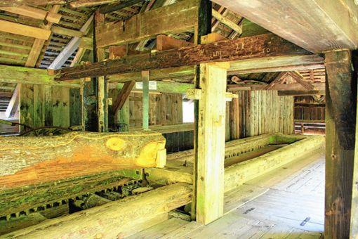 Die historische Klopfsäge kann am deutschen Mühlentag in Augenschein genommen werden.    Foto: zVg Foto: Markgräfler Tagblatt