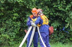 Bei Wettkämpfen wie der Leistungsspanne messen sich die Jugendlichen mit anderen und präsentieren ihr Können. Foto: zVg Foto: mek