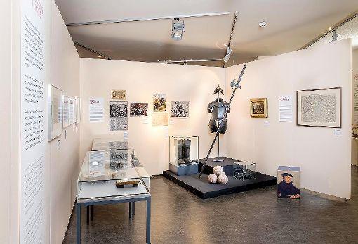 """Blick in die Ausstellung """"Reformationen""""   Foto: zVg Foto: Die Oberbadische"""