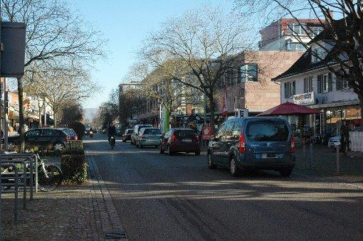 Ein Teil der Hauptstraße soll zeitweise Fußgängerzone werden.    Foto: Marco Fraune Foto: Weiler Zeitung