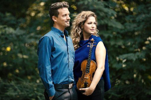 Gwendolyn Masin  und Simon Bucher   Foto: zVg Foto: Markgräfler Tagblatt