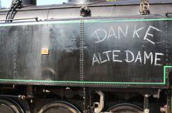 Die Lok 37878 wurde am Sonntag in Kandern verabschiedet. Foto: ag