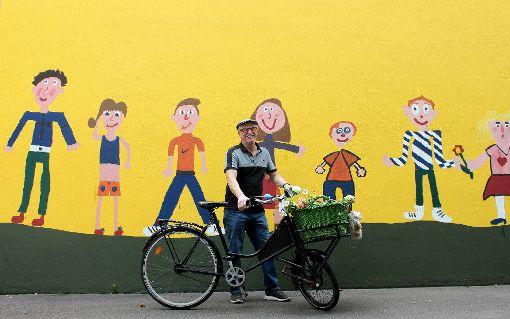 """Klaus Franz: """"Die Schule und die Kinder werden mir fehlen. Hoffentlich bekomme ich  die Möglichkeit,  mich auf eine andere Art und Weise weiterhin an der Schule einzubringen."""" Foto: Nele Höfler Foto: Nele Höfler"""