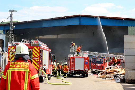 Die Feuerwehr sieht sich einer Vielzahl und Vielfalt an Aufgaben gegenüber.   Fotos: WZ Foto: Weiler Zeitung