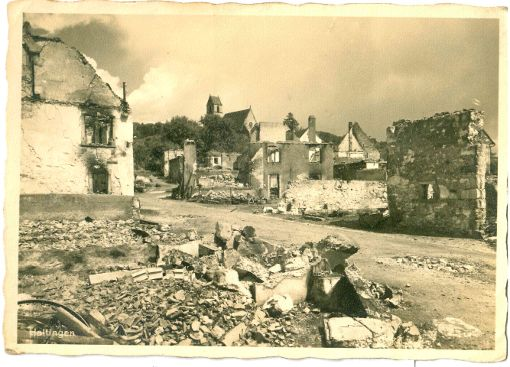 Haltingen geriet unter Beschuss. Foto: Weiler Zeitung