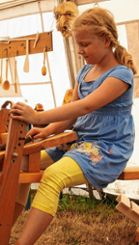 Auch zum Abschluss durften die Kinder nach Herzenslust basteln und werkeln. Foto: Markgräfler Tagblatt
