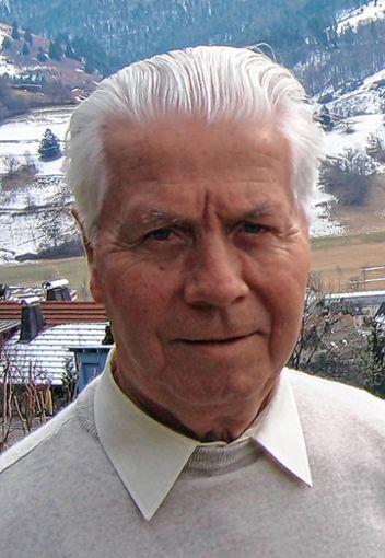 Richard Böhler wird heute 90 Jahre alt.   Foto: Archiv Foto: Markgräfler Tagblatt
