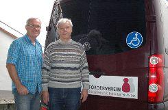 Dieter Funk (l.) und Heinrich Benner    Foto: Ursula König Foto: Die Oberbadische